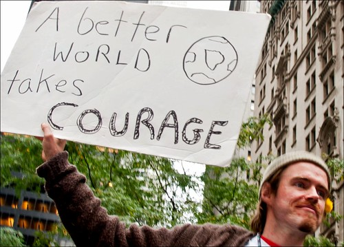 Courage Is Needed to Make a Better World (22/37) | by Tony Fischer Photography