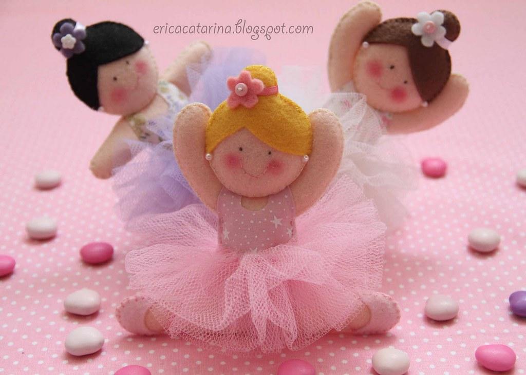 Quem quer ser uma bailarina a bailarina esta menina t o for Gnomi di stoffa fai da te