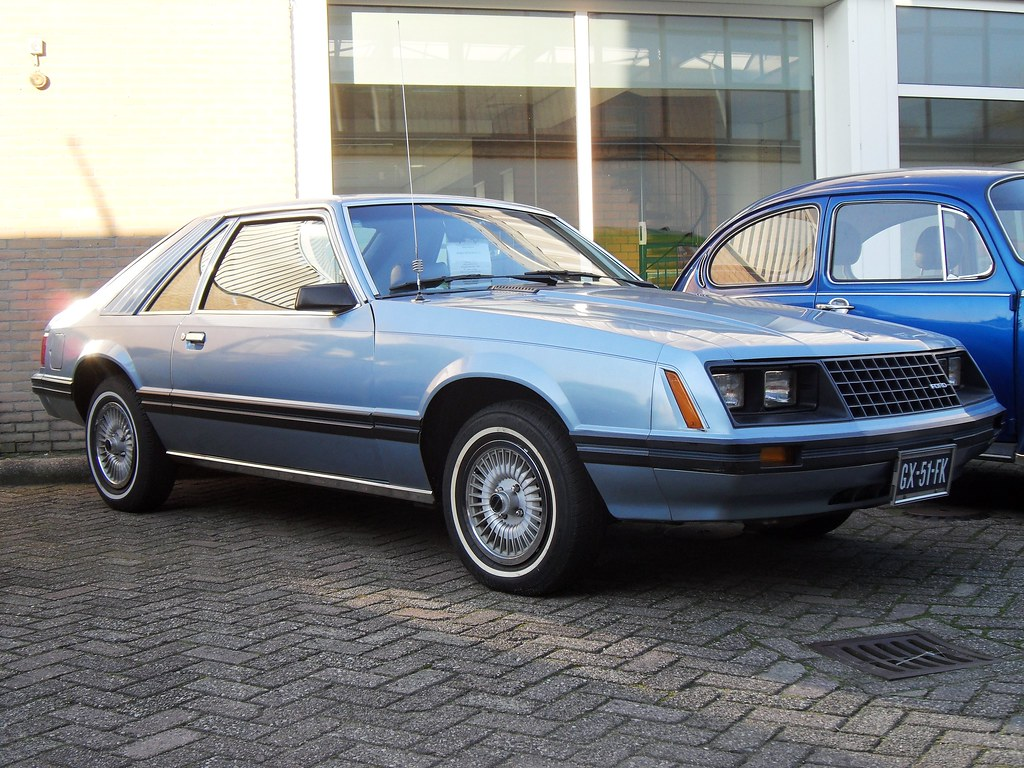 1981 ford mustang ghia gx 51 fk 1981 ford mustang ghia. Black Bedroom Furniture Sets. Home Design Ideas