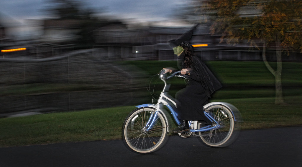 The Wicked Witch Of The West Spotted In Baker Park Last Ev Flickr