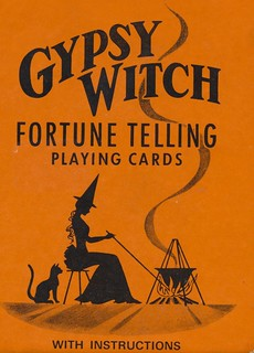 Gypsy Witch Fortune Telling Playing Cards | by The Cardboard America Archives