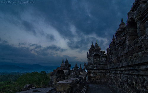 Borobudur at Dawn | by Prayudi Hartono