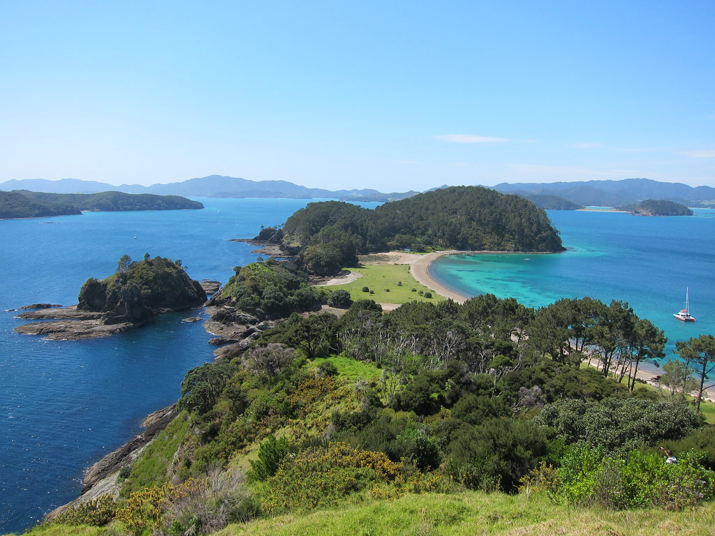 Robertson Island, Bay of Islands, New Zealand