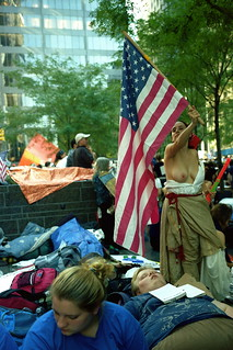 Wall Street, Protester 2011: The Lady Liberty | by ni_san_shijp