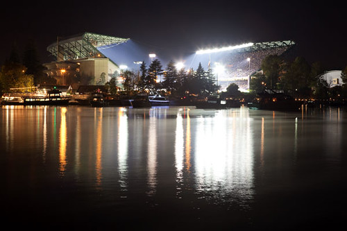 The Final Game at Old Husky Stadium | by Max Waugh Photography