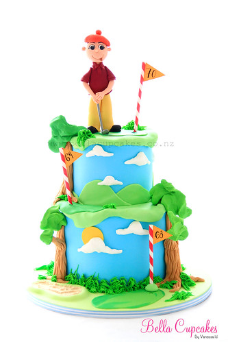 For the golfer! | by Bella Cupcakes (Vanessa Iti)