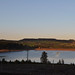 Langsett Reservoir at twilight