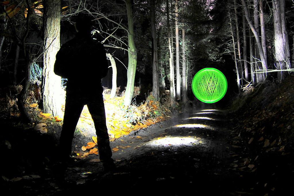 The Blair Orb Project Deep Within The Eerie Woods We Trac Flickr
