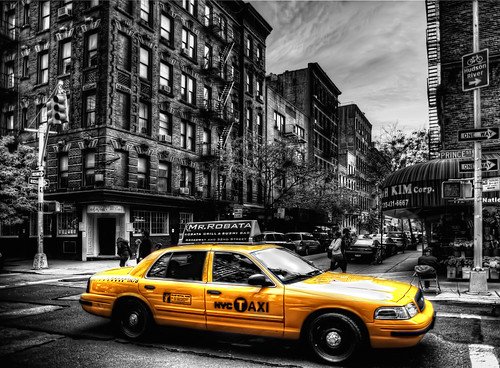 The Taxi | by Damien C Green