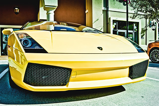 { YEL 0 } Lamborghini Gallardo | Houston Coffee and Cars Nov 2011| 010 | by @iseenit_RubenS | R.Serrano Photography