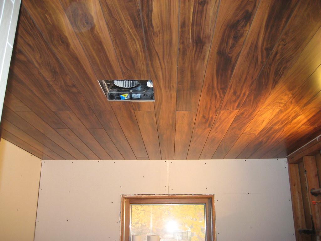 flooring used as ceiling   laminate flooring used as ceiling…   flickr