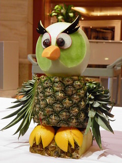 Owl Fruit and Vegetable Carving | by rabidscottsman