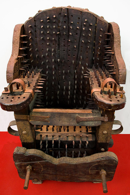 Interrogation Chair Exhibition Of Instruments Of