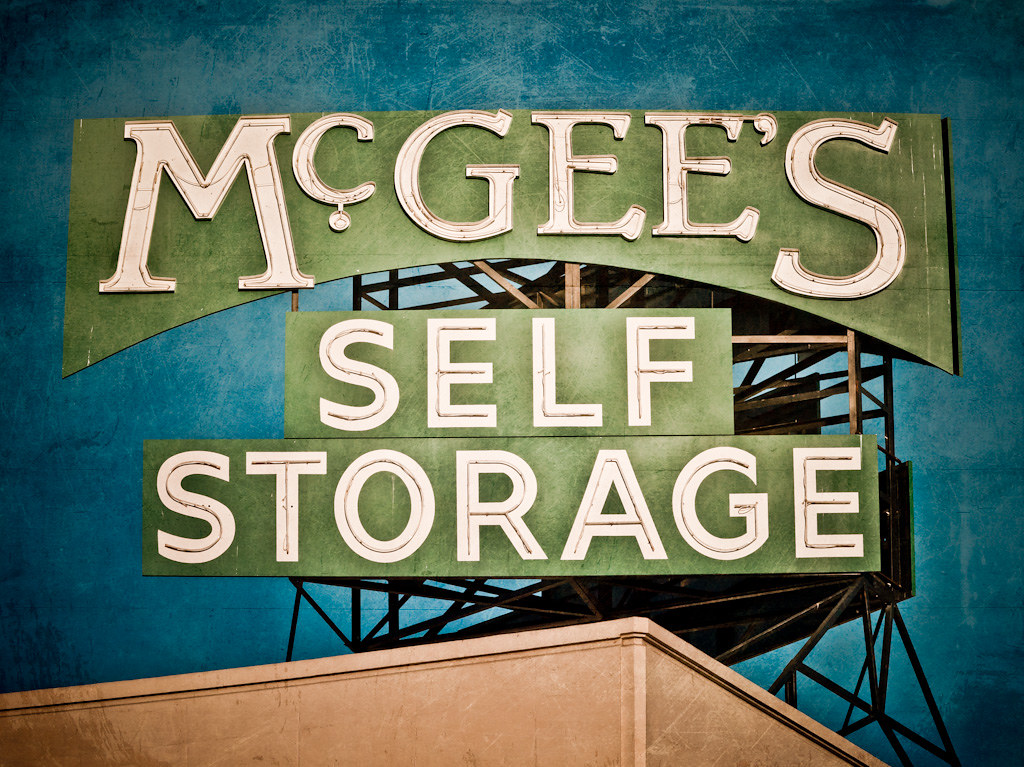 ... McGeeu0027s Self Storage | By Shakes The Clown