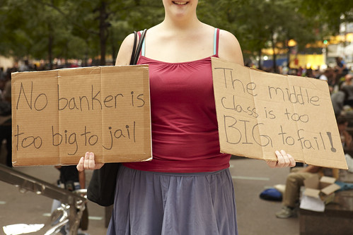 A female protester at the Occupy Wall Street Protests | by Caroline Schiff Photography