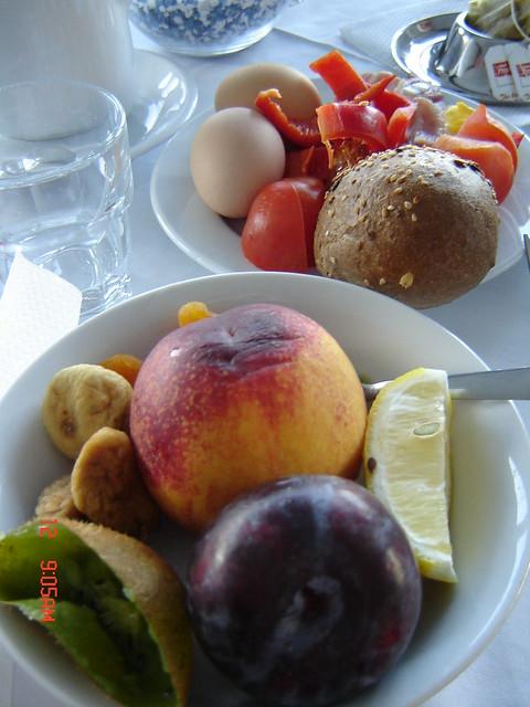Aamiainen Krk-saarella