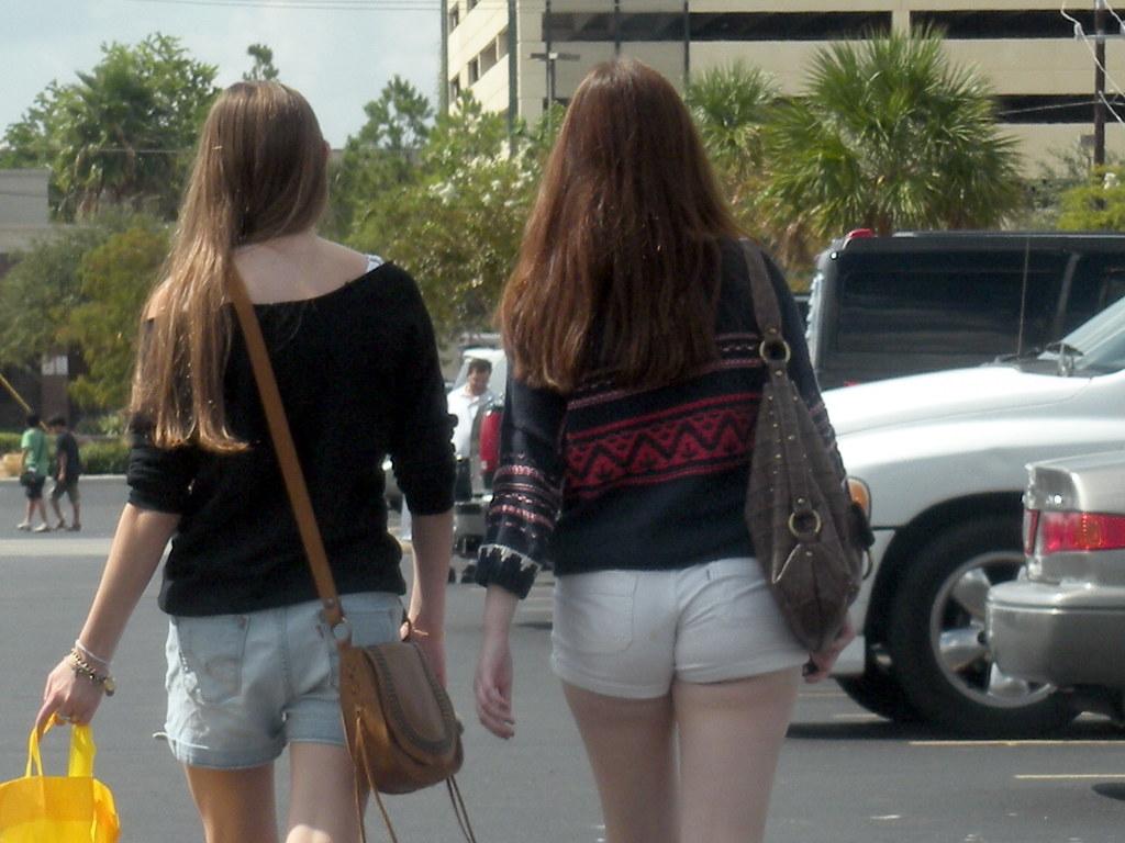 Tight White Shorts - The Else