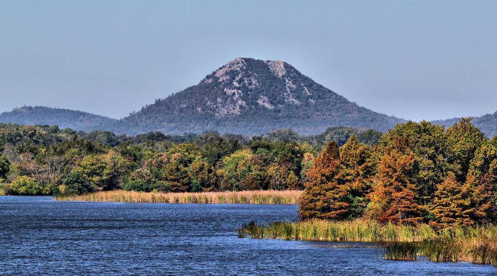 Pinnacle Mountain A Little Fall Color Starting To Show