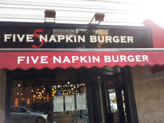 Napkin Burger Hells Kitchen