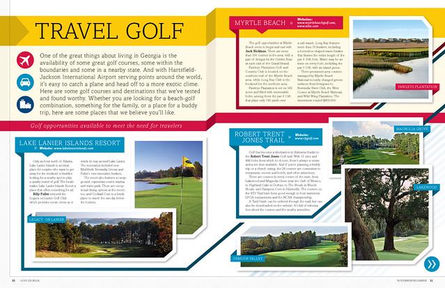Golf Georgia Editorial / Magazine Design   Flickr - Photo ...