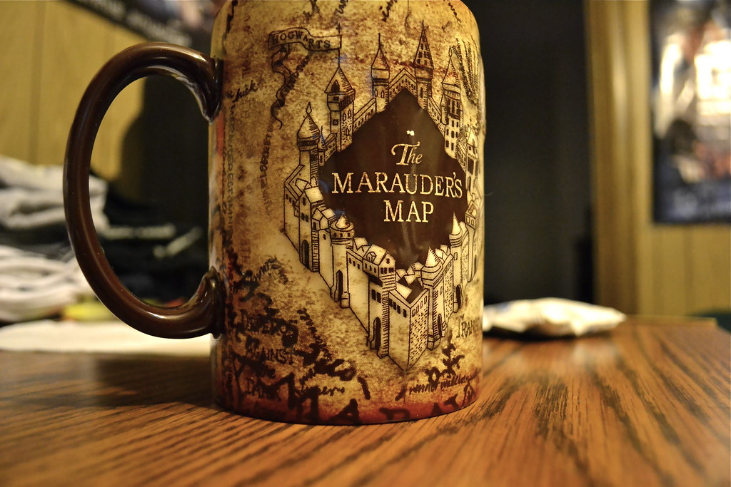 Dreaming >> My Marauder's Map Mug c: | dontstopmefrom-dreaming.tumblr.co… | Flickr