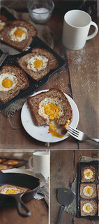 Eggless Egg in Toast | by V.K.Rees Photography