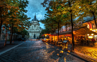 The Sorbonne | by Stuck in Customs