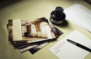 Write a postcard sent to distant friends(Explored) | by essa he