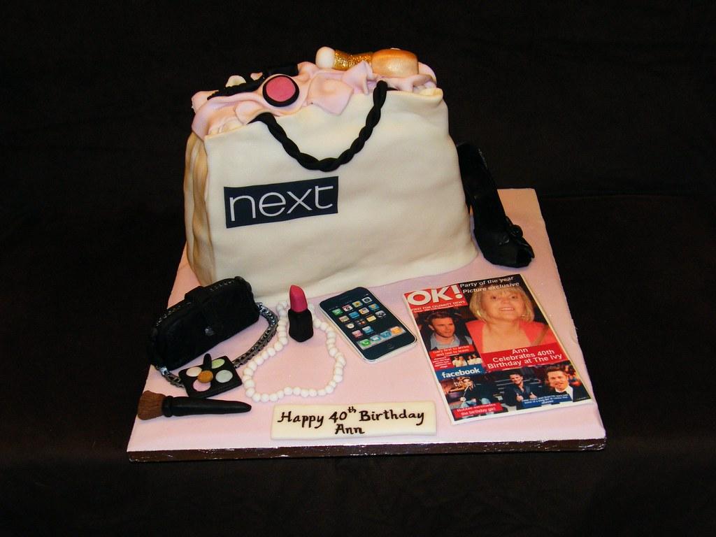 Shopping Bag Cake Images