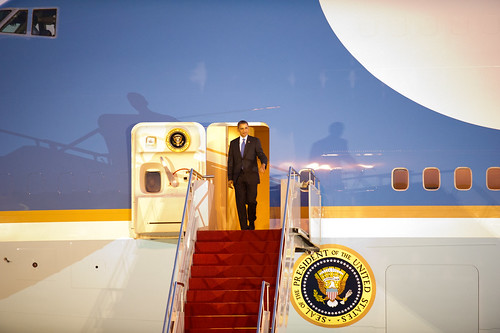 President Obama arrives in Bali | by East Asia and Pacific Media Hub