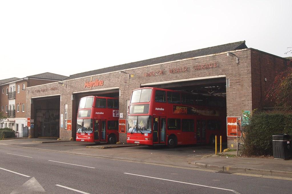Harrow weald hd metroline 39 s harrow weald garage with for Garage new s villejuif