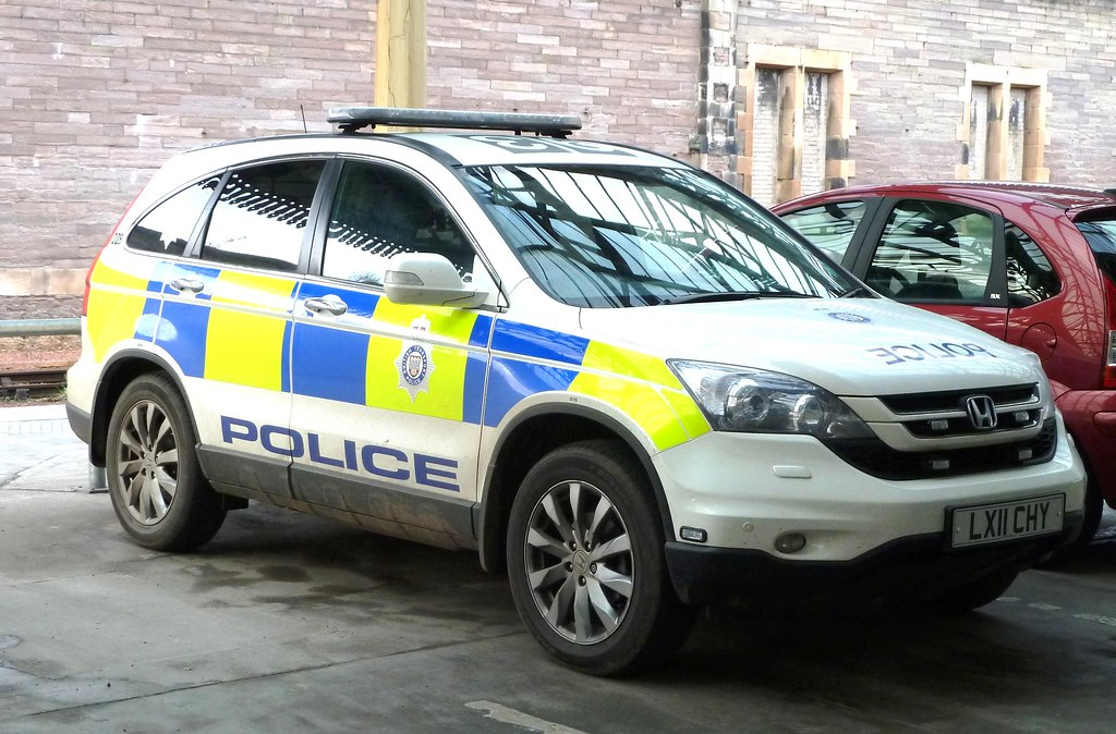 Honda Crv British Transport Police Perth Lx11 Chy