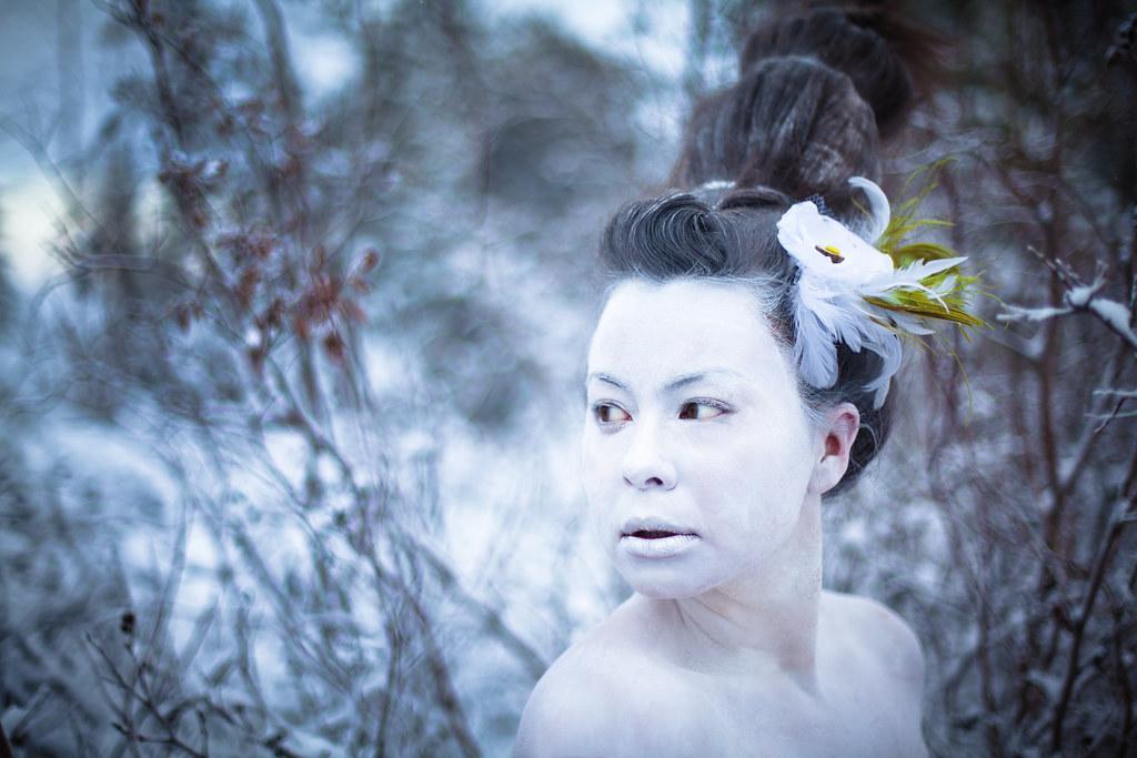 Lady snow Nude Photos 8
