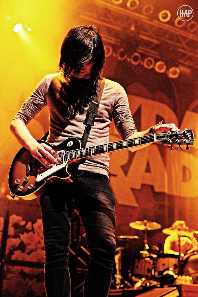 Alex Garcia of Mayday Parade | The Noise Tour Houston, TX ...
