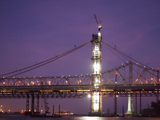 New Bay Bridge under construction at Night | by Eric Broder Van Dyke