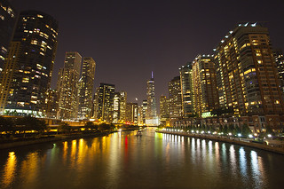 Chicago Skyline Reflection | by vix227