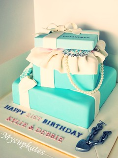 Tiffany cake | by MyCupKates