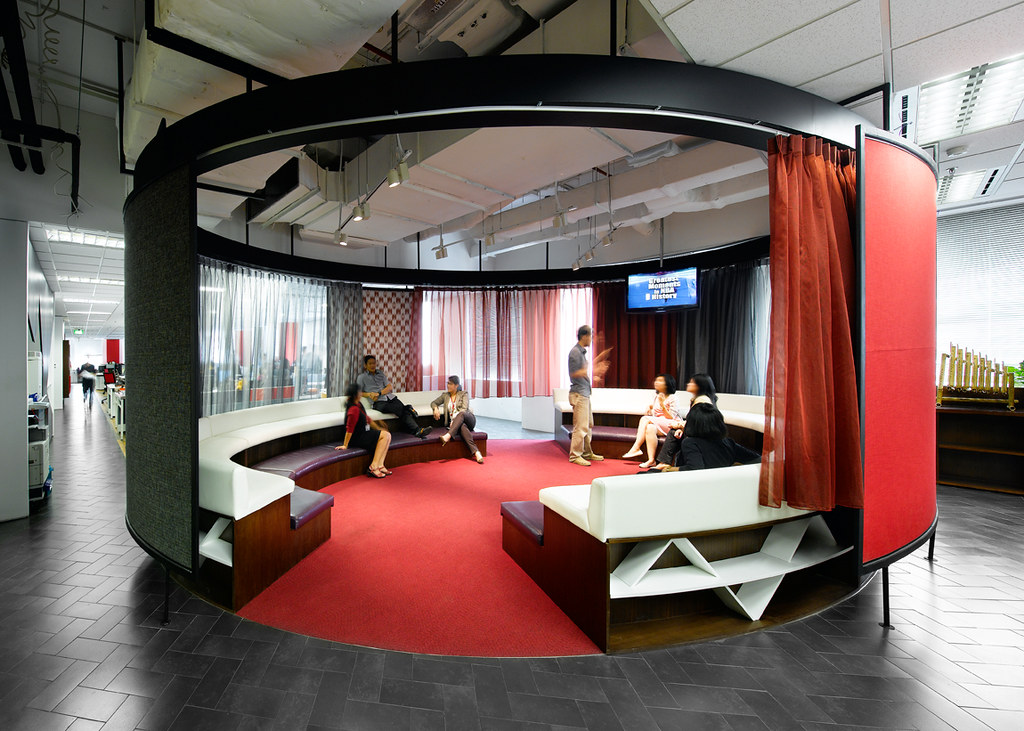 Creative office design by m moser associates m moser for Offices ogilvy
