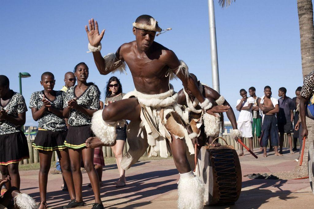 Zulu dance, KwaZulu-Natal | uShaka Marine World, Durban ...