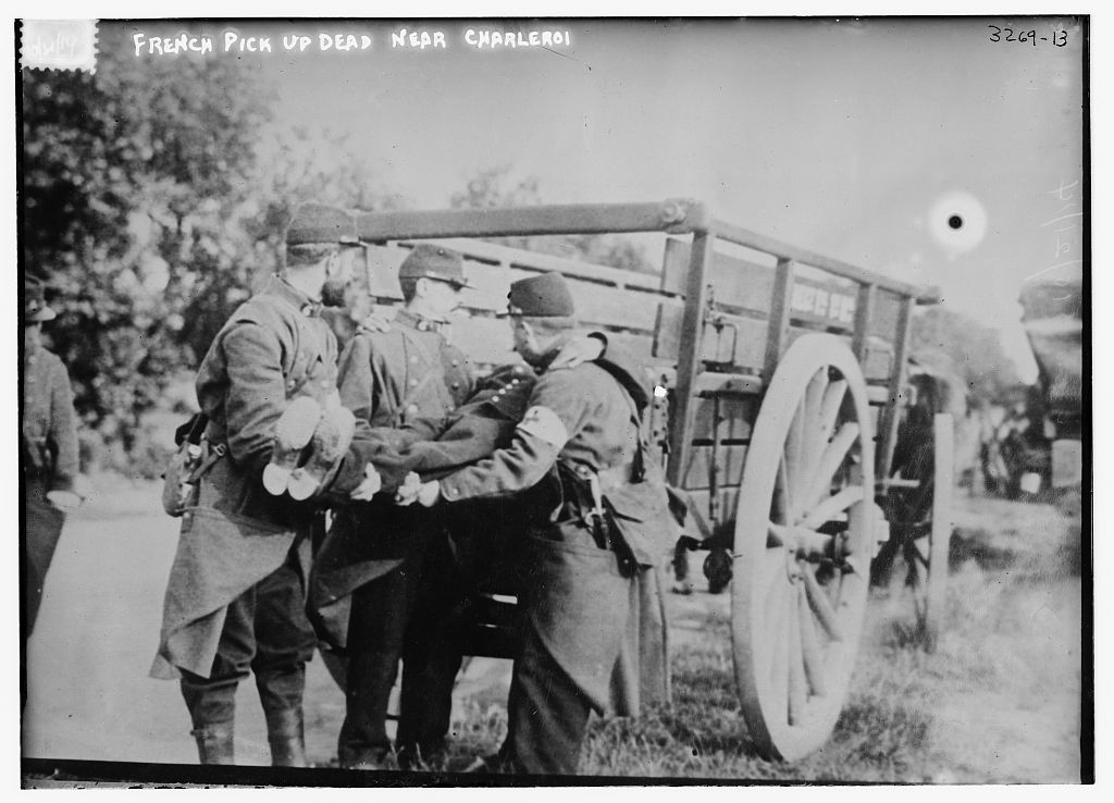 French pick up dead near Charleroi (LOC)   Bain News Service…   Flickr