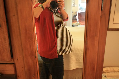 39 week bump | by artsy-crafty babe