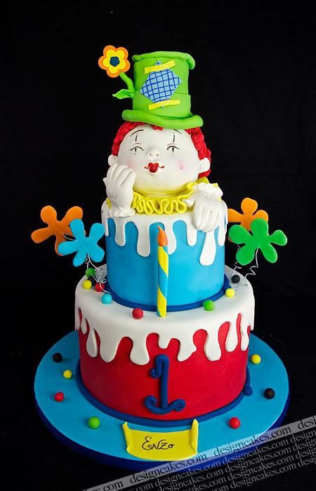 Clown Birthday Cake Christine Pereira Flickr