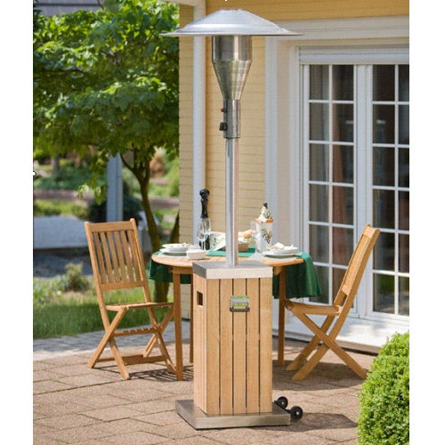 ... Enders Designer Wood U0026 Steel Patio Heater | By Alfresia.co.uk