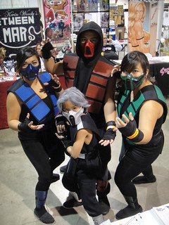 Long Beach Comic & Horror Con 2011 - Mortal Kombat family | by Doug Kline