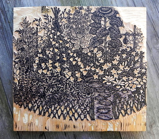 """Garden"" key block 