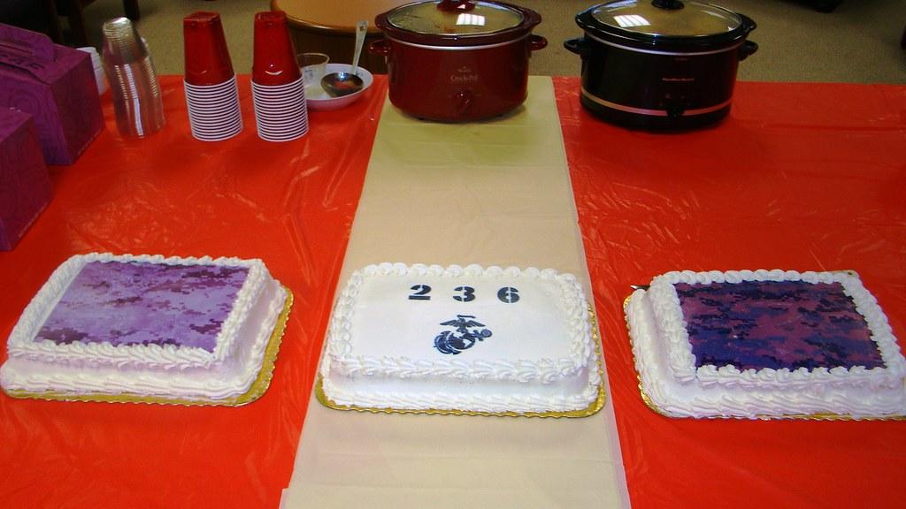 Marine Corps Birthday Cake 10 November 2011 Usmc Archives Flickr