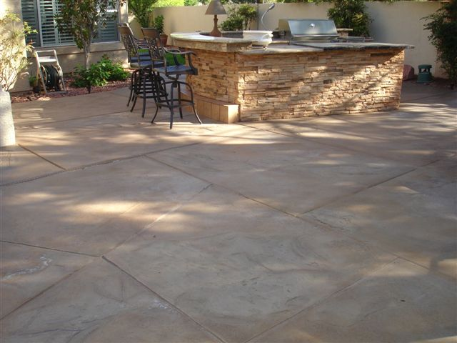 stamped concrete patio alternative surfaces provides the. Black Bedroom Furniture Sets. Home Design Ideas