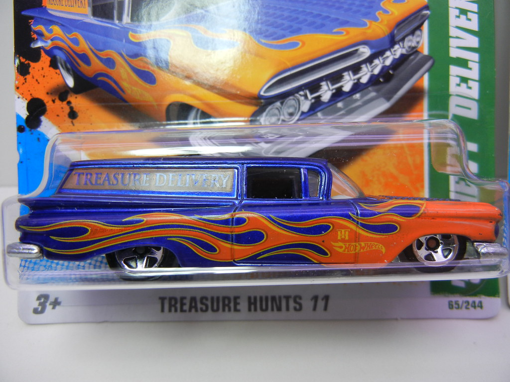 hot wheels treasure hunt 39 59 chevy delivery regular flickr. Black Bedroom Furniture Sets. Home Design Ideas