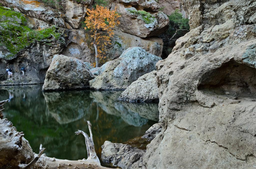 Rock pool at Malibu Creek State Park | Love this pool. There ...