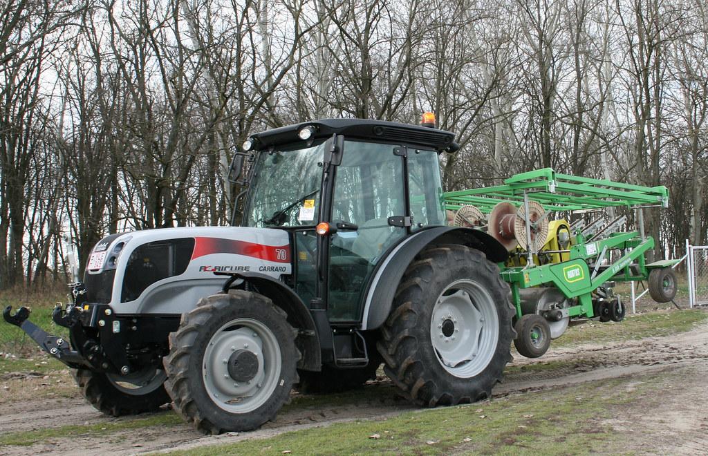 Ungheria agricube in campo carraro trattori flickr for Forum trattori carraro
